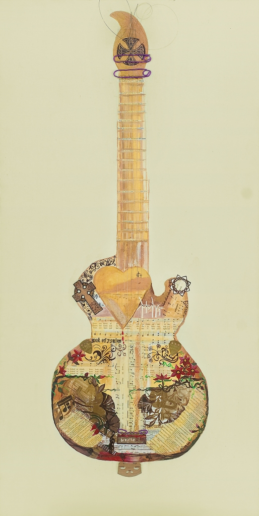 Andrews Guitar by Lisa Hunt-Wotton