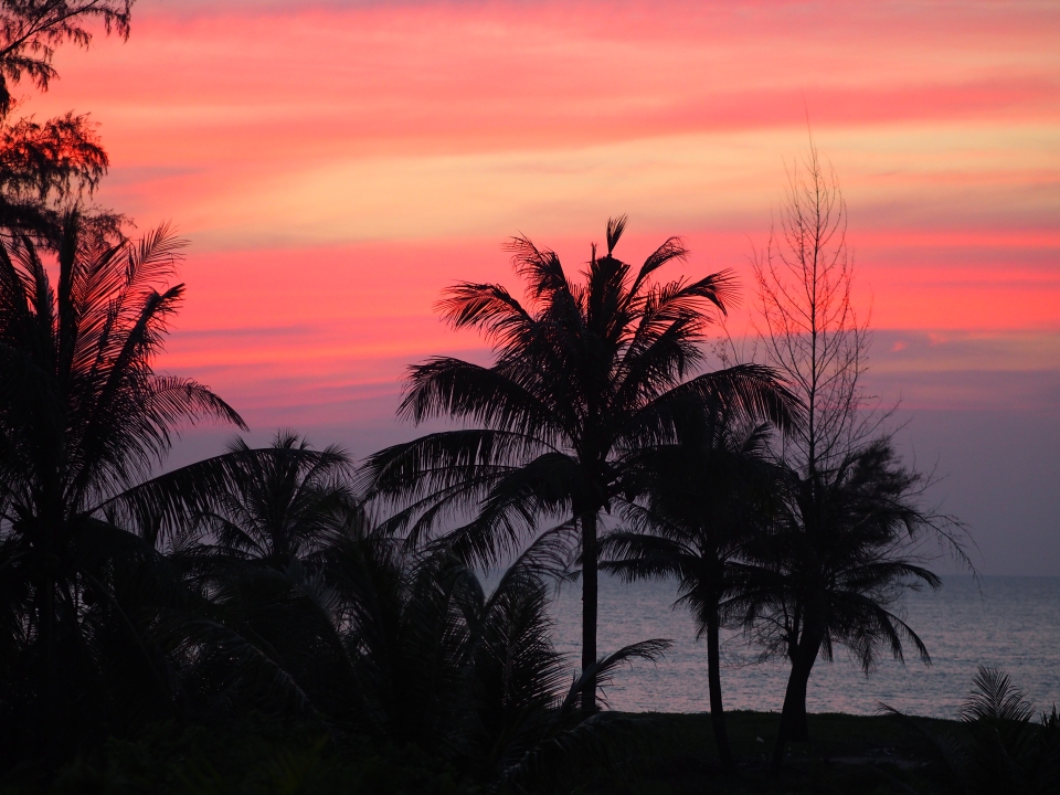 Thailand Sunset by Libby Mc Connell