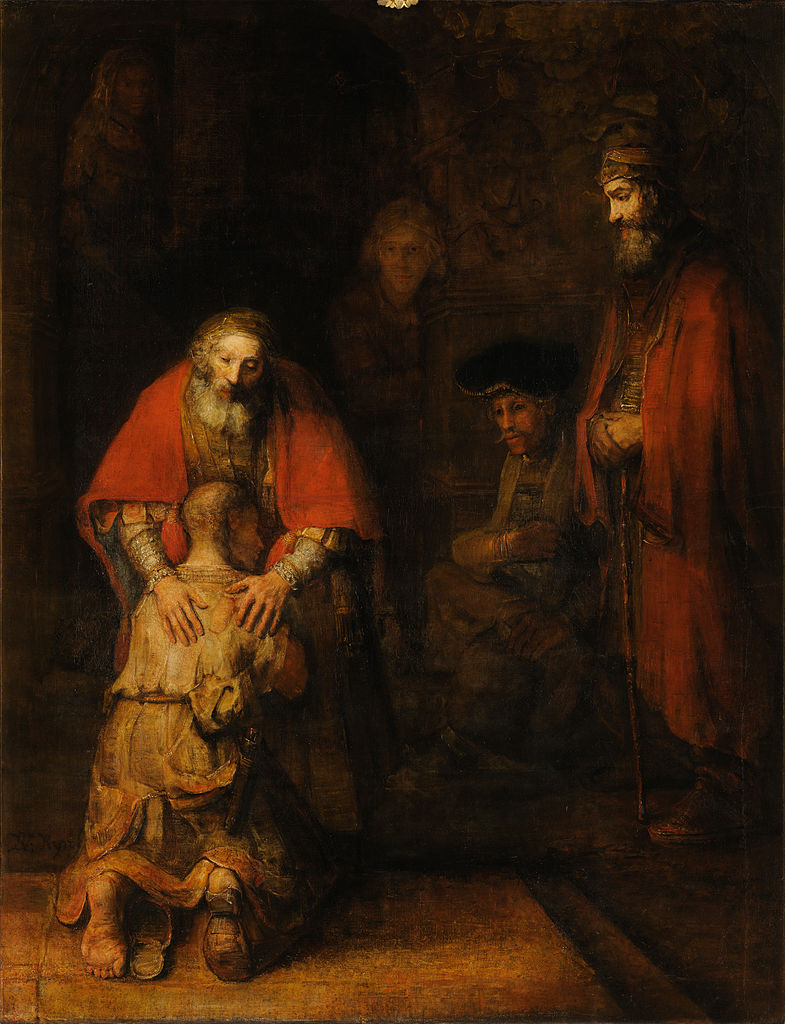 Rembrandts Return of the prodigal