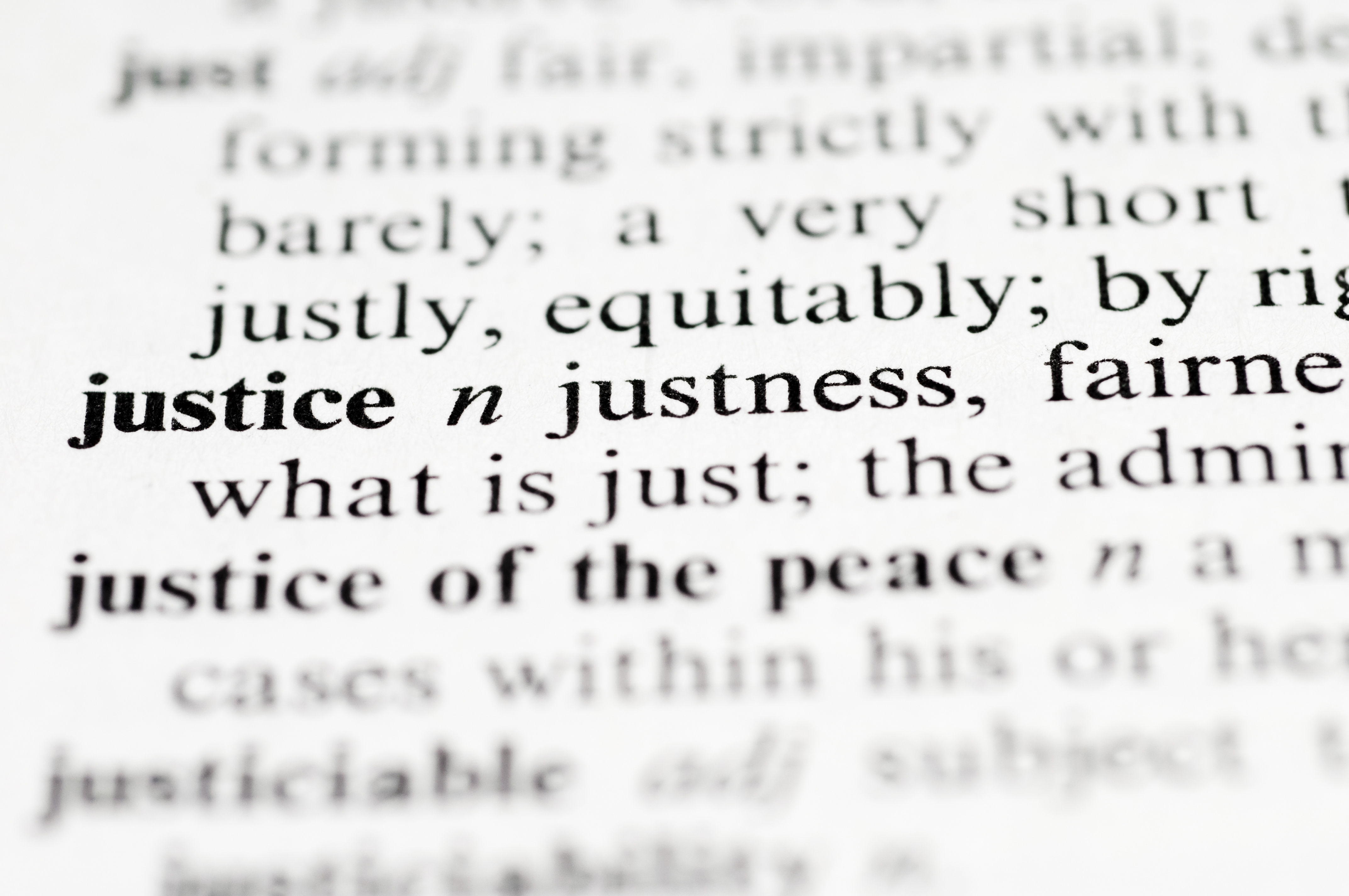 What is justice 87